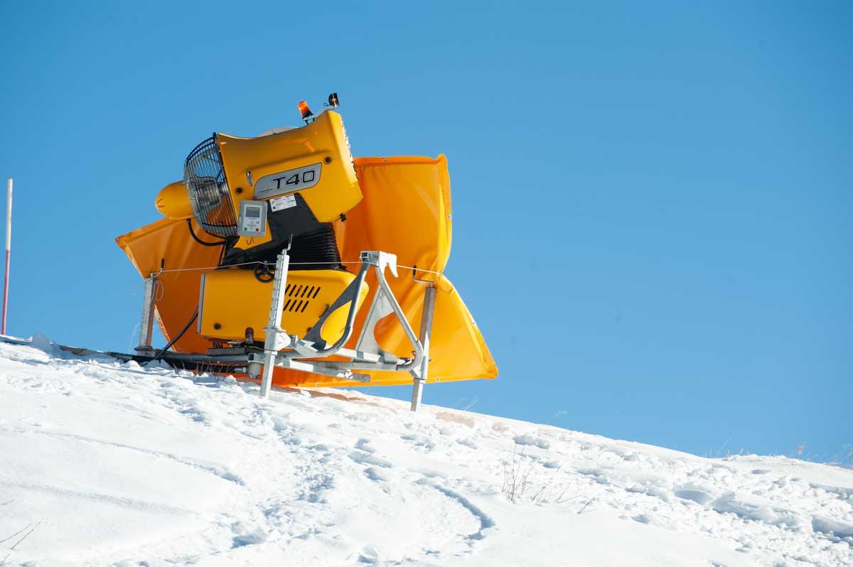 cannone piste da sci