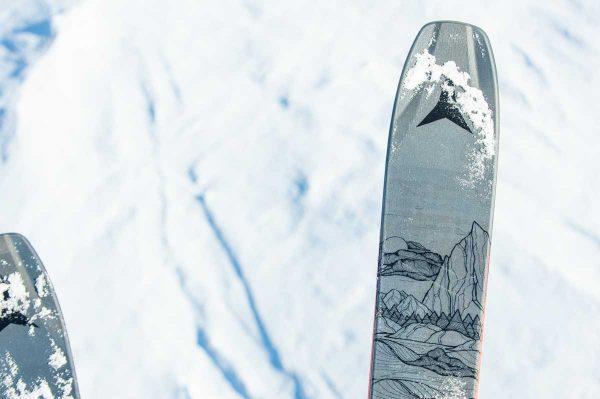 lezione di sci freeride e security